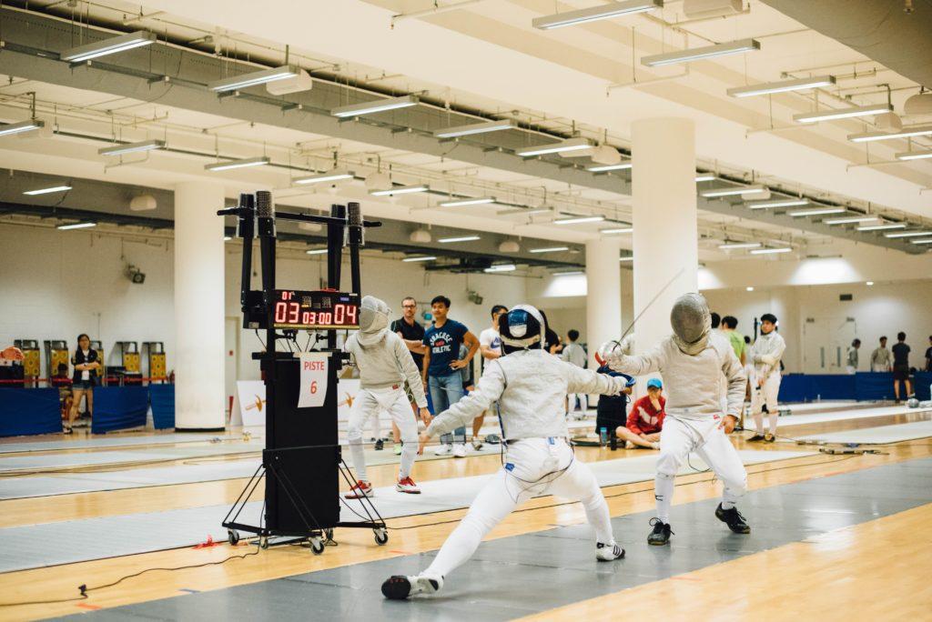 フェンシングの基本ルール フルーレ・エペ・サーブルの違い