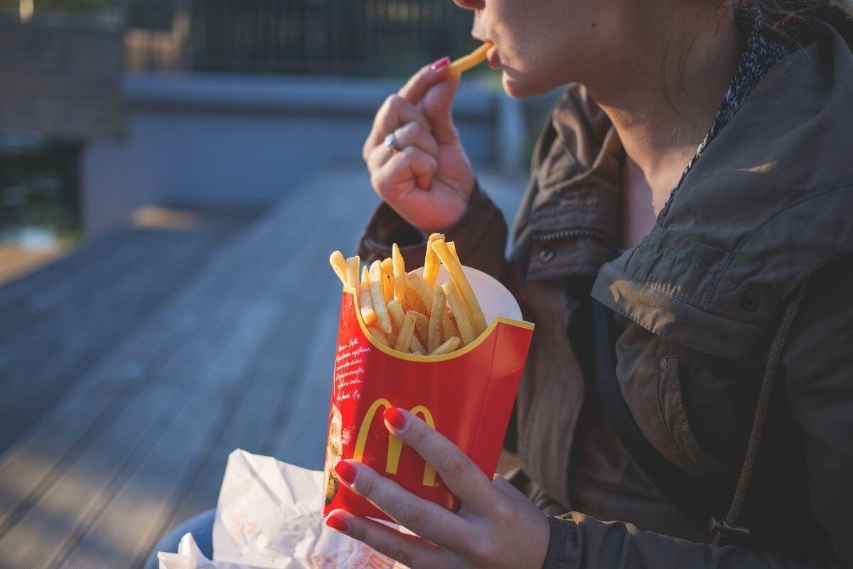 マクドナルドが太ると言われる理由